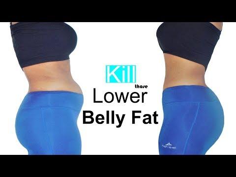 Kill those LOWER BELLy FAT (5 MIN lower ab workout) lose BELLY FAT| 7 exercises for lower belly fat