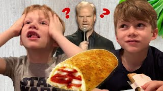 My Kids Try/React To Their First Hot Pocket! + Standup