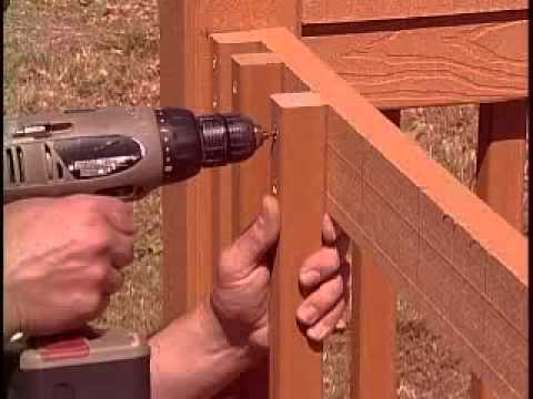 Tamko EverGrain 2x4 Traditional Railing System