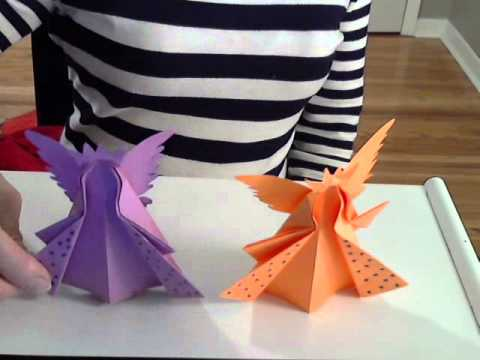 Origami Christmas Angel Ornament By (S. Ma)