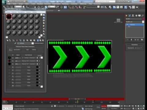 Tutorial: Animating A Traffic Light Using Texture Animation in 3d Studio Max