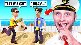 I CHEATED And BRIBED A COP! (The Ship)