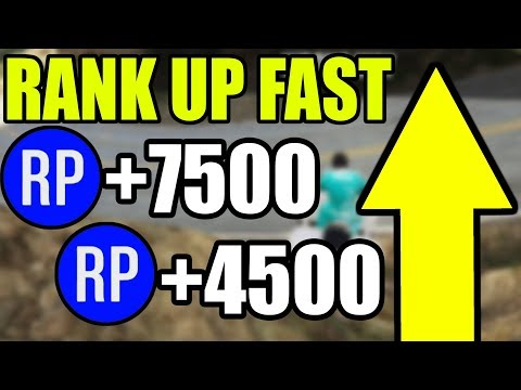 GTA 5 Online RP - How To Rank Up Fast In GTA 5 Online 1.42