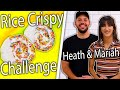 Can Heath Hussar Mariah Amato Re Create Our Rainbow Rice Crispy Treats Snackable Food Challenge