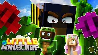 GIANT KILLER BUGS IN THE GARDEN! - Little Minecraft #10