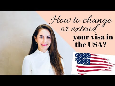 How to extend and change your visa in the USA🇺🇸