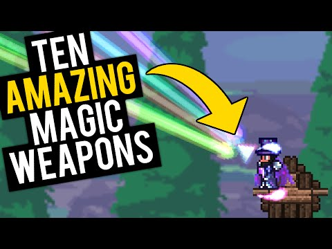 Top 10 Magic Weapons in Terraria