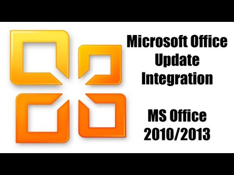How to Integrate Updates into a Microsoft Office Install [Office 2010/2013 Tutorial]