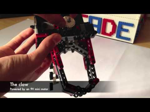 LEGO claw machine - The mechanism