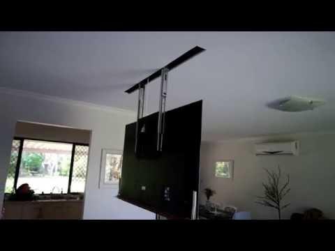 Viral Video UK: Hidden TV in ceiling