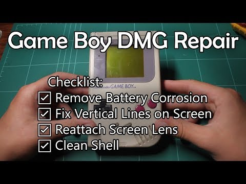 Game Boy DMG Repair
