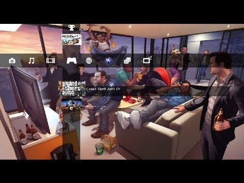 Grand Theft Auto PS3 Theme (DOWNLOAD)