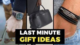10 Best Last Minute Gift Ideas for Men   Gift Guide for Guys   Alex Costa