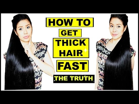 How To Get Thick Hair Fast? The TRUTH & TIPS-GROWING RECEDING HAIR LINE-Beautyklove