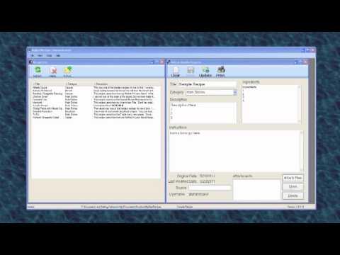 Free Recipe Software MyBestRecipes Overview