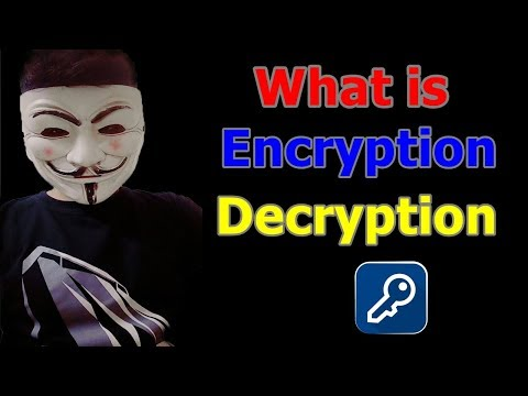 What is Encryption and Decryption ? |Public Key Encryption? | Explained in Detail