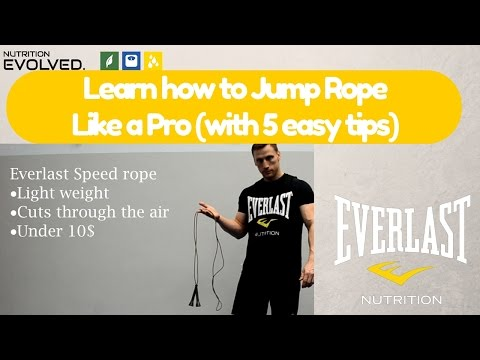 Learn how to Jump Rope like a Pro (with 5 simple tips)