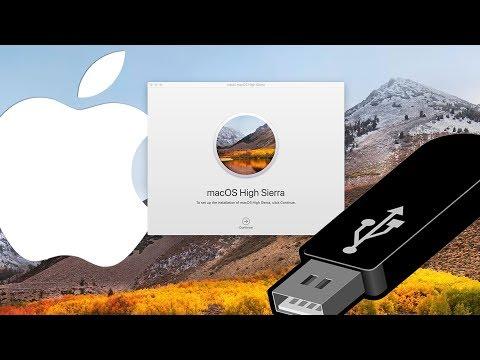 How to Create a Bootable USB Install Drive | MacOS High Sierra