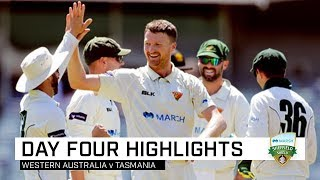 WA salvage Shield draw against Tasmania | Marsh Sheffield Shield 2019-20