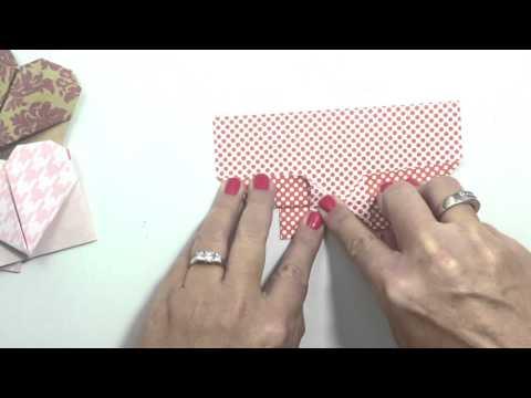 Origami Hearts Tutorial