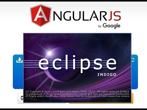 Angularjs with eclipse | Angularjs with java for beginners