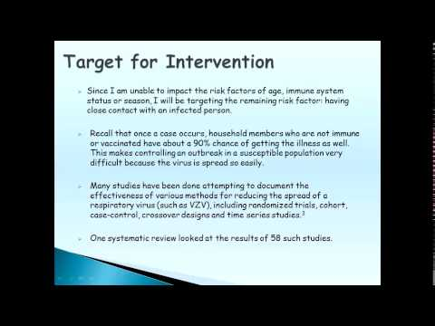Intervention Study Proposal