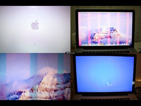 2011 Apple MacBook Pro graphics issues are solved - Laptop repair