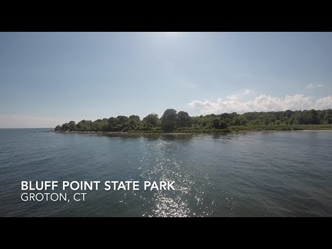 Bluff Point State Park Groton, CT (Audio: