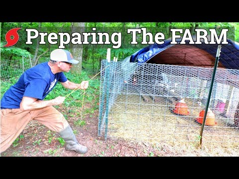 Tropical Storm Is Heading To Our Farm (How We Prepped) The Farm Life