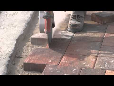Cutting the Paver Border