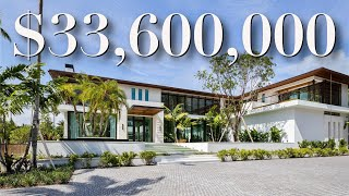 INSIDE A MASSIVE $33,600,000 MANSION IN SOUTH FLORIDA / FOR SALE / LUXURY HOME TOUR