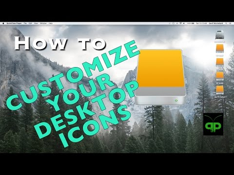 How to customize the drive icons on your desktop (mac)