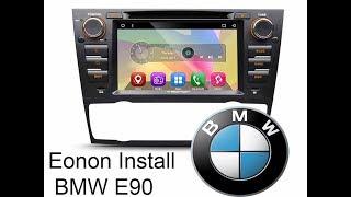 Eonon Stereo Deck Install - BMW E46 325i - PakVim net HD