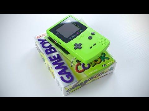 Nintendo Game Boy Color Unboxing!