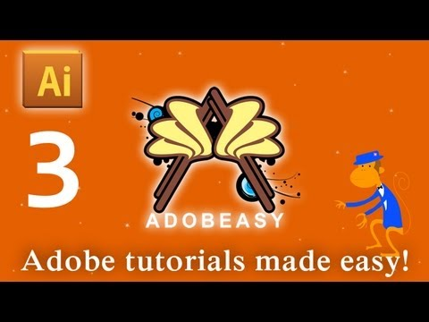 3D Drawing Tutorial With The Perspective Grid In Adobe Illustrator CS5