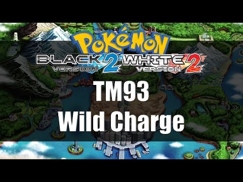Pokemon Black 2 & White 2 | Where to get TM93 Wild Charge