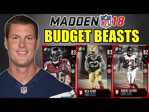 MADDEN 18 ULTIMATE TEAM BUDGET BEASTS! CHEAP ELITE PLAYERS YOU NEED TO GET! MUT 18