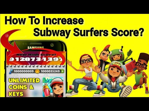 How to increase subway surfers score No root 100% working,In hindi Urdu