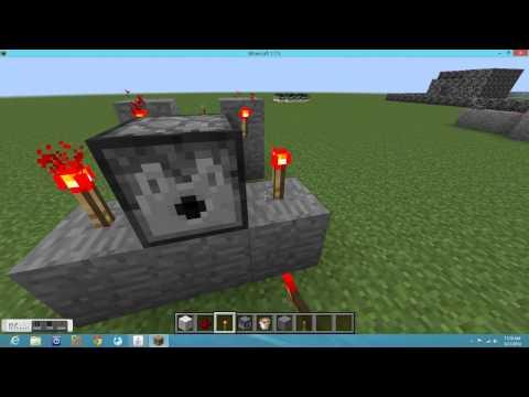 minecraft how to build a gun 1.7.5