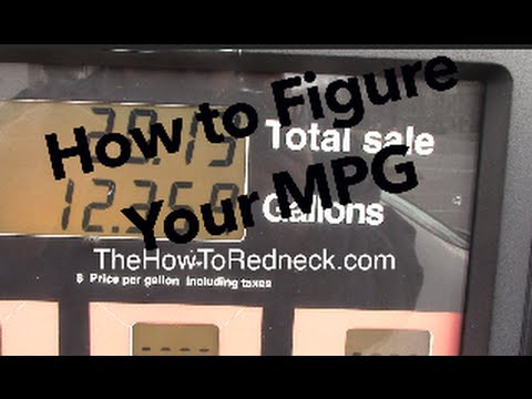How to Figure Your Cars Gas Mileage