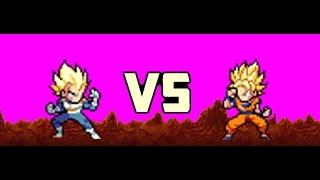 Goku Vs Beerus Dragon Ball Super Sprite Animation Tube10xnet