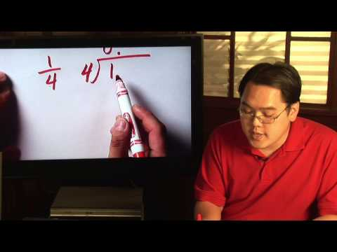Fractions & Proportions : How to Change a Ratio Into a Decimal