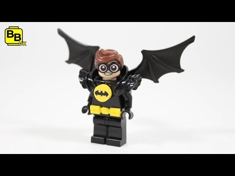 LEGO BATMAN MOVIE ROBIN WINGED AVENGER MINIFIGURE CREATION