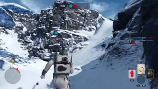 STAR WARS™ Battlefront™ Disruptor Rifle Takes Out Tie Fighter