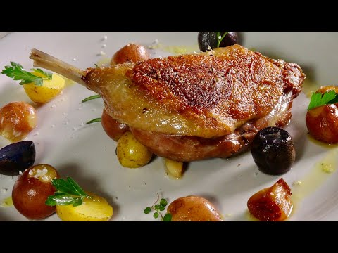 Duck Confit - Bruno Albouze - THE REAL DEAL