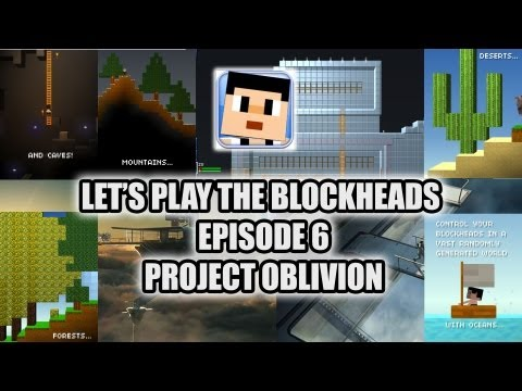 Let's Play The blockheads episode 6 - Project Oblivion