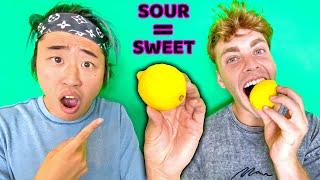 MAGIC Berries Turn SOUR Food SWEET!! (Taste Test Challenge)