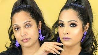 WEIRD Makeup HACKS - SMOKEY EYES Step By Step Tutorial for Beginners | Shruti Arjun Anand