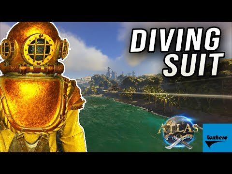 Atlas - How to Craft & Use the Diving Suit