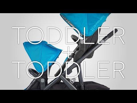 UPPAbaby VISTA Stroller - Toddler + Toddler